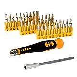 Syba SY-ACC65018 Multimedia Easy Grip 32 Pieces Precision Screwdriver Set