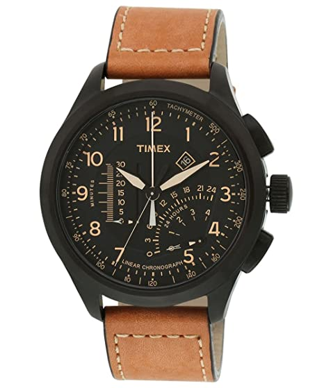 Timex Intelligent Quartz Analog Black Dial Men's Watch - T2P277 at amazon