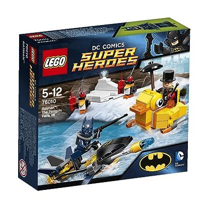 LEGO Super Heroes - Dc Universe - 76010 - Jeu De Construction - Batman - L' Affrontement Avec Le Pingouin