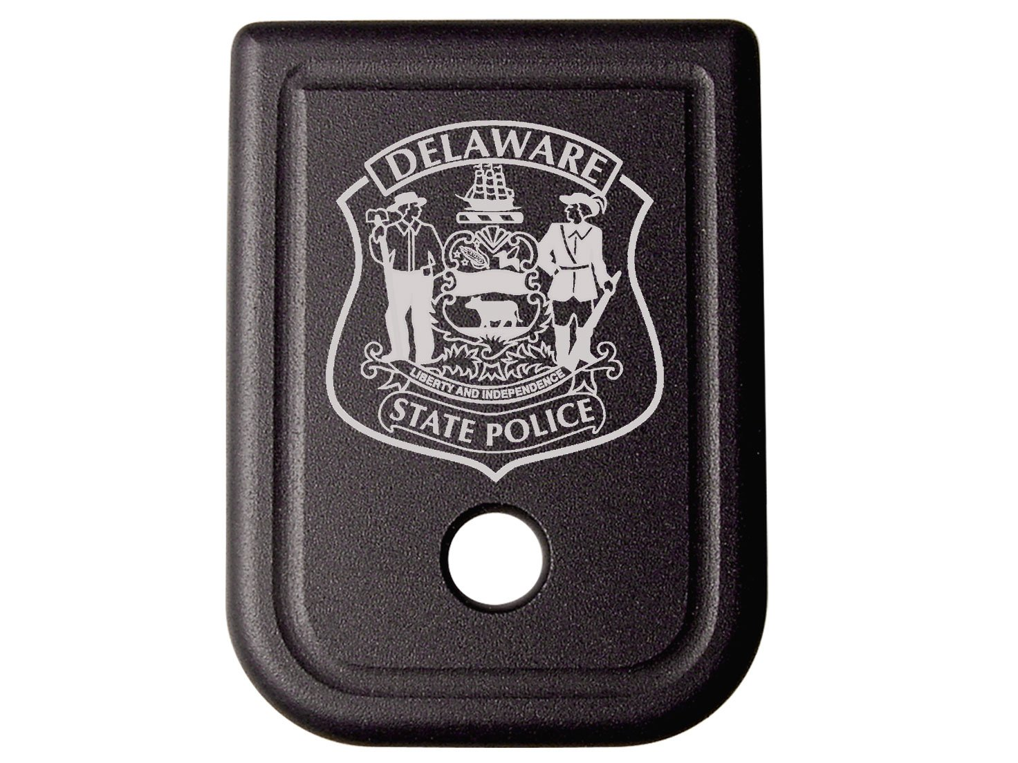 Police State Delaware Floor Base Plate for Glock 9mm .357 .40 .45GAP base plate for tdp 0