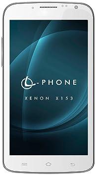 Leotec L-Phone Xenon X153 Smartphone débloqué (5.3 pouces - 4 Go) Blanc (import Espagne)