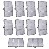 Viugreum 10 Pack 300W LED Flood Light, Waterproof IP65outdoor Work Light, 27000LM Daylight White(6000-6500K) Security Lights, Floodlight Landscape Spotlights Wall Lighting, Fast Shipping from USA (Color: 300W Daylight White, Tamaño: 10 Pack)