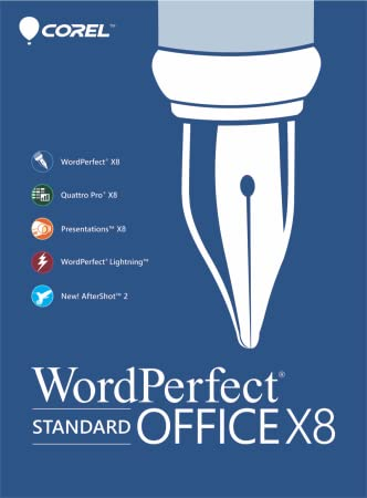 WordPerfect Office X8 Standard Upgrade [Download]