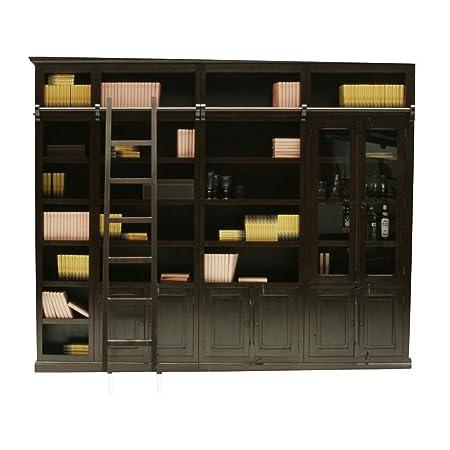 Kare design - Bibliotheque cabana element avec portes