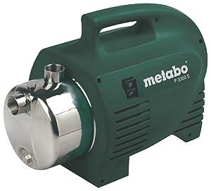 Metabo 0250330120 Gartenpumpe P 3300 S  BaumarktÜberprüfung und Beschreibung