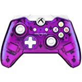 PDP 048-036-NA-PR Rock Candy Wired Controller for Xbox One, Purple (Color: red)