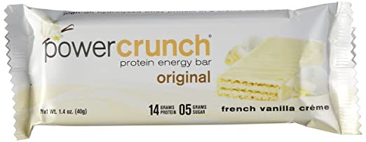 POWER CRUNCH® PROTEIN ENERGIE RIEGEL (French Vanilla Créme) 12 Riegel
