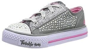 Skechers Shuffles Glamour Ties, Baskets pour fille   de clients pour plus d'informations