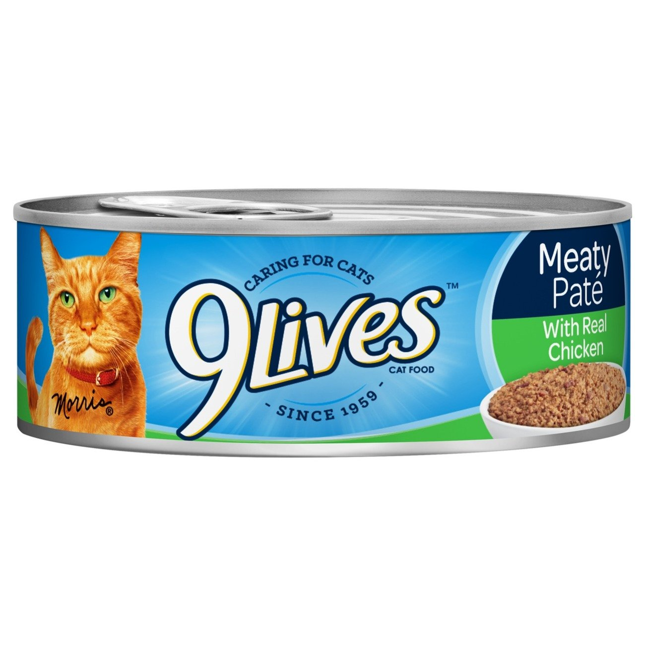 9Lives Meaty Paté With Real Chicken