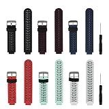 Replacement Smart Wrist Watch Accessory Band Strap Garmin Forerunner 230/235/620/630/735XT/235Lite (Color: Set of 6, Tamaño: Free Size 5.11