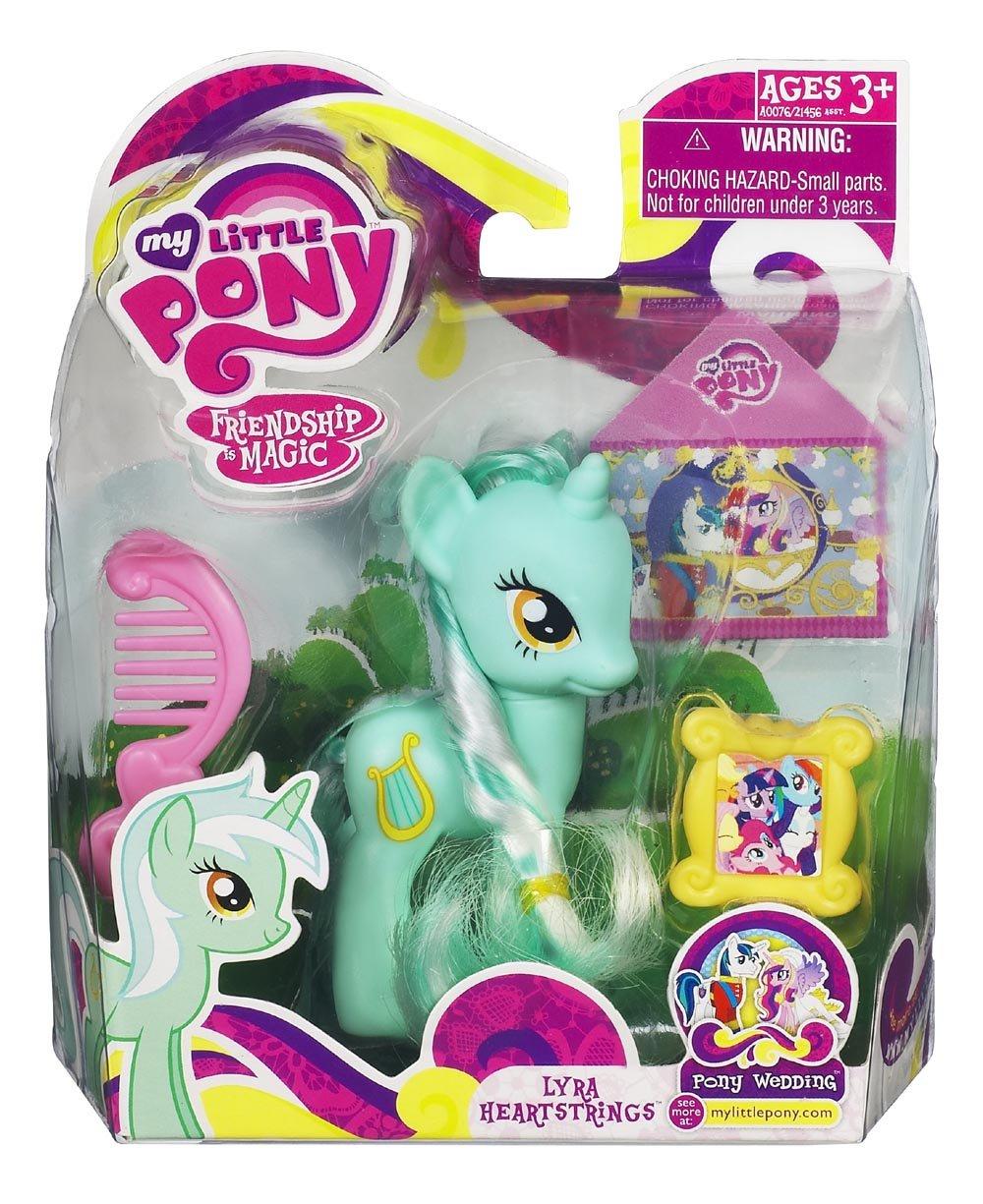 My Little Pony – A0076 – FRiENDSHiP iS MAGiC – Lyra Heartstrings – ca. 8 cm – mit Kamm und Bilderrahmen günstig als Geschenk kaufen