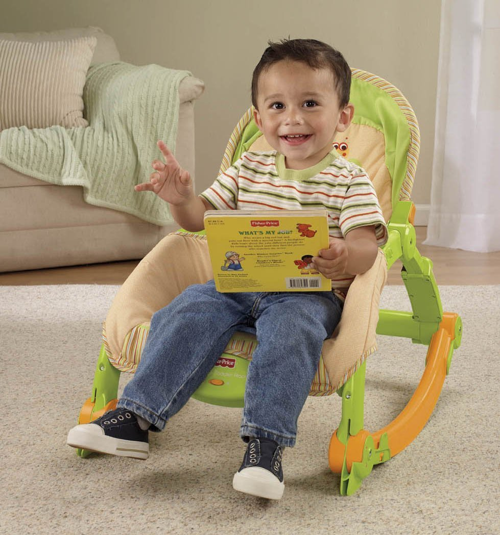Fisher Price Newborn Toddler Portable Rocker Baby Bouncer