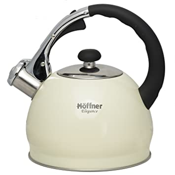 Buy Hoffner Whistling Kettle 2.0L Beige Online at Low Prices in ... | {Höffner online shop 82}