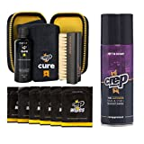 Crep Protect Cure Kit, Ultimate Rain & Stain Shoe Spray and 6 Wipes (Bundle Gift Pack) (Color: Spray, Cure Kit, 6 Wipes, Tamaño: One Size)
