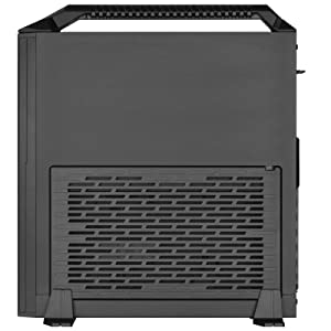 SilverStone Technology Mini-ITX Slim Small Form Factor Computer Case with Handle (SST-ML08B-H-USA) (Color: ML08-H-USA)