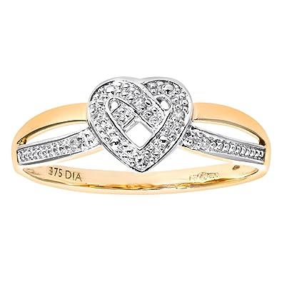 hématite diamant cz bijoux joaillerie Bague Alliances Anneaux plaqué or jaune
