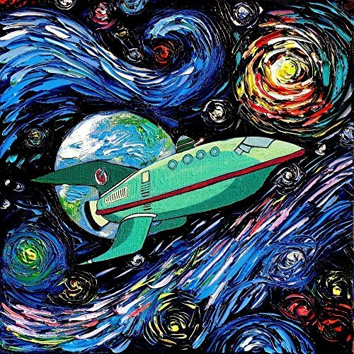 futurama-inspired-art-planet-express-space-art-starry-night-poster-print-van-gogh-never-had-it-deliv