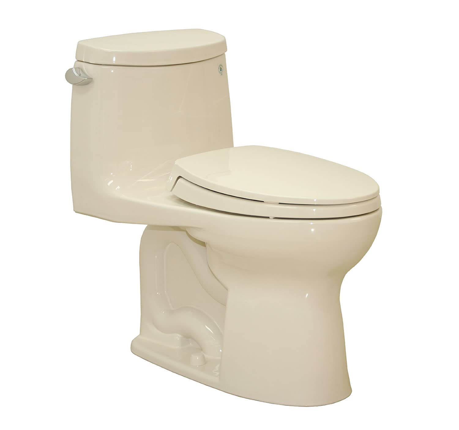 TOTO MS604114CEFG#03 Ultramax II Het Double Cyclone One Piece Toilet with Sanagloss, Bone