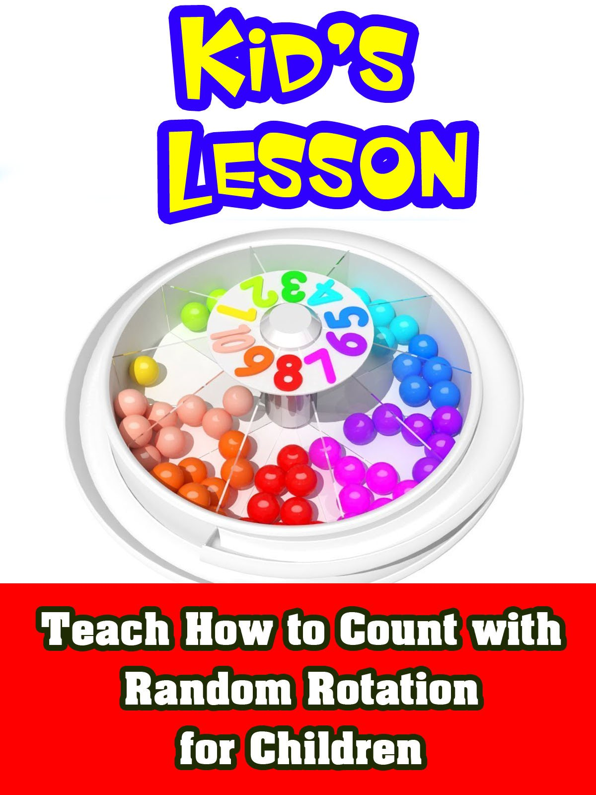 Teach How to Count with Random Rotation for Children