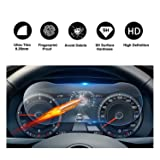 2018 Tiguan Discover Media Touch Screen Car Dashboard Screen Protector, HD Clear Tempered Glass Car in-Dash Screen Protective Film (12.3In Dashboard) (Color: 12.3In Dashboard)