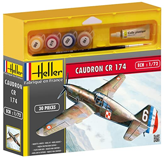 Heller - 50218 - Maquette - Aviation - Caudron Cr 174 - Echelle 1/72 - Kit
