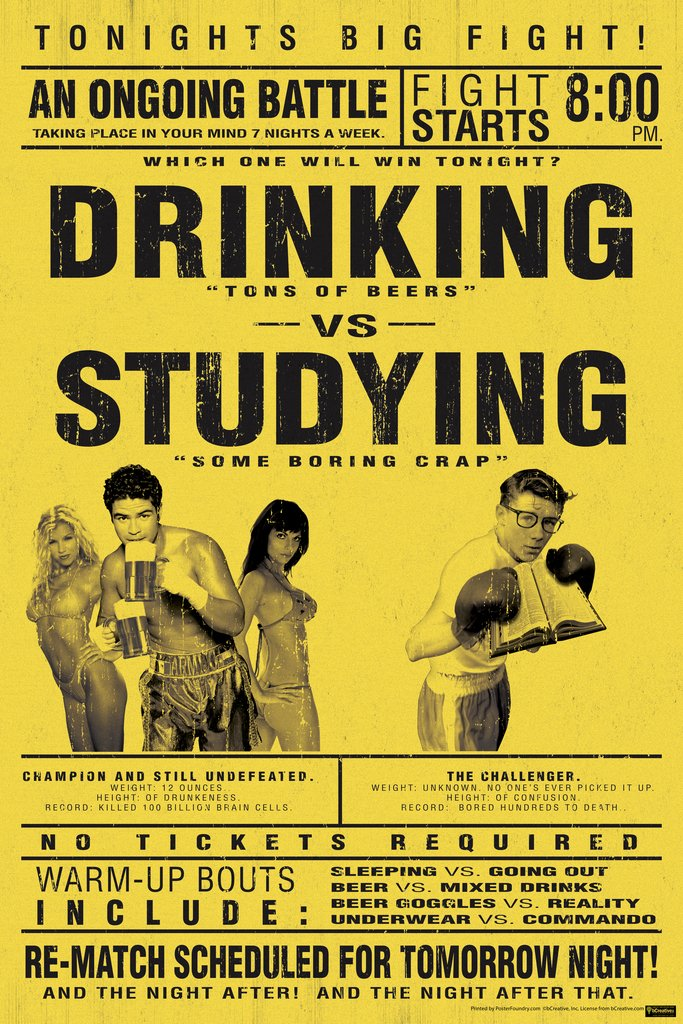 College Drinking Poster