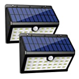InnoGear Solar Lights Outdoor, 30 LED Motion Sensor Security Night Light with Auto on and Off for Front Door Back Yard Driveway Garden Patio Garage, Pack of 2 (Color: White, Tamaño: Small-2 Pack)