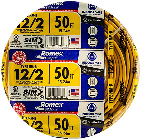 "6//3 NM-B x 80/' Southwire /""Romex®/"" Electrical Cable"