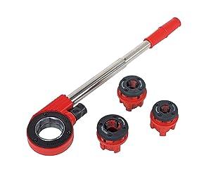 Rothenberger Industrial 070780X Super Cut  Gewindeschneidkluppensatz  Ø 1/2  3/4  1  inkl. 3 Schneidköpfen  BaumarktKundenbewertung und Beschreibung