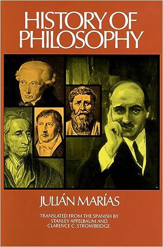 History of Philosophy (Historia de la Filosofia) written by Julian Marias