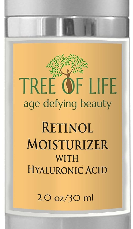 Retinol amounts in moisturizers - Tree Of Life Retinol Moisturizer With Hyaluronic Acid