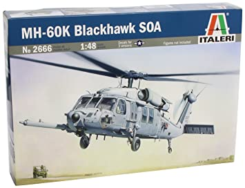 Italeri - I2666 - Maquette - Aviation - MH-60K Blackhawk Soa - Echelle 1:48