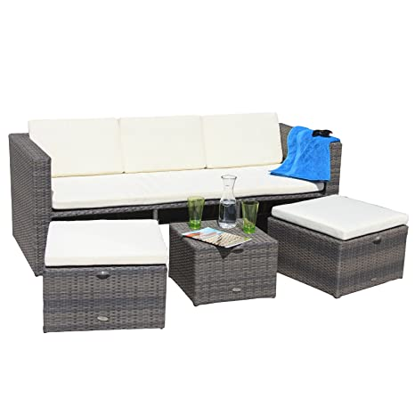 Oseasons Mayson Five Seater Garden Furniture Lounge Set