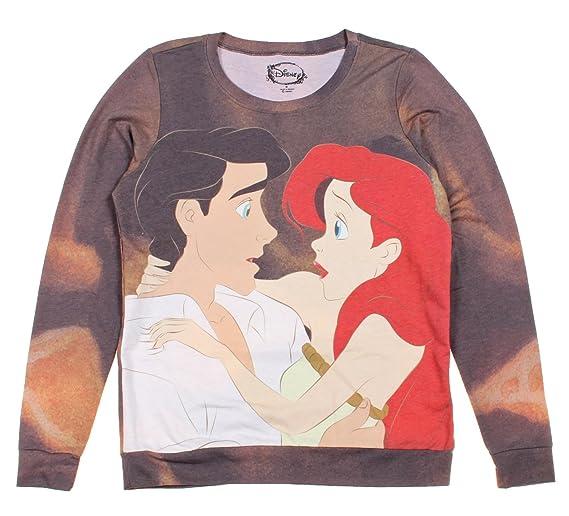 Hot Topic Women's Disney The Little Mermaid Ariel Eric Pullover Top