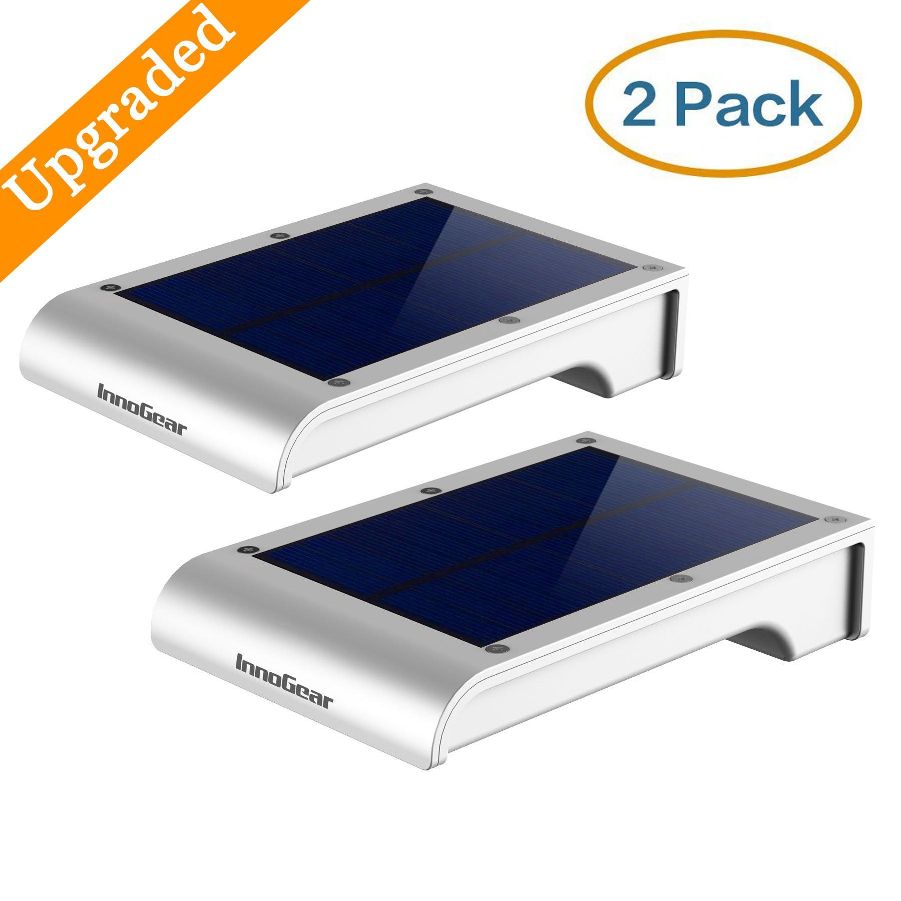 Upgraded Motion Sensor Light InnoGear 20 LED Solar Powered Outdoor Lights Swi