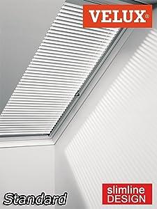 Original VELUX Jalousette Jalousie Jalousien PG Standard PAL Y85 7001 / Uni Weiß passgenau für VL Y85 mit Aluminium Führungsschienen // PAL Y85 7001S  BaumarktKundenbewertung und weitere Informationen