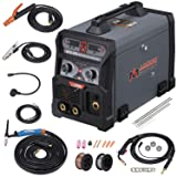 205 Amp MIG/TIG-Torch/Stick Arc Combo Welder, Weld Aluminum(MIG) 110/230V Dual Voltage Welding New (Tamaño: Full Size)