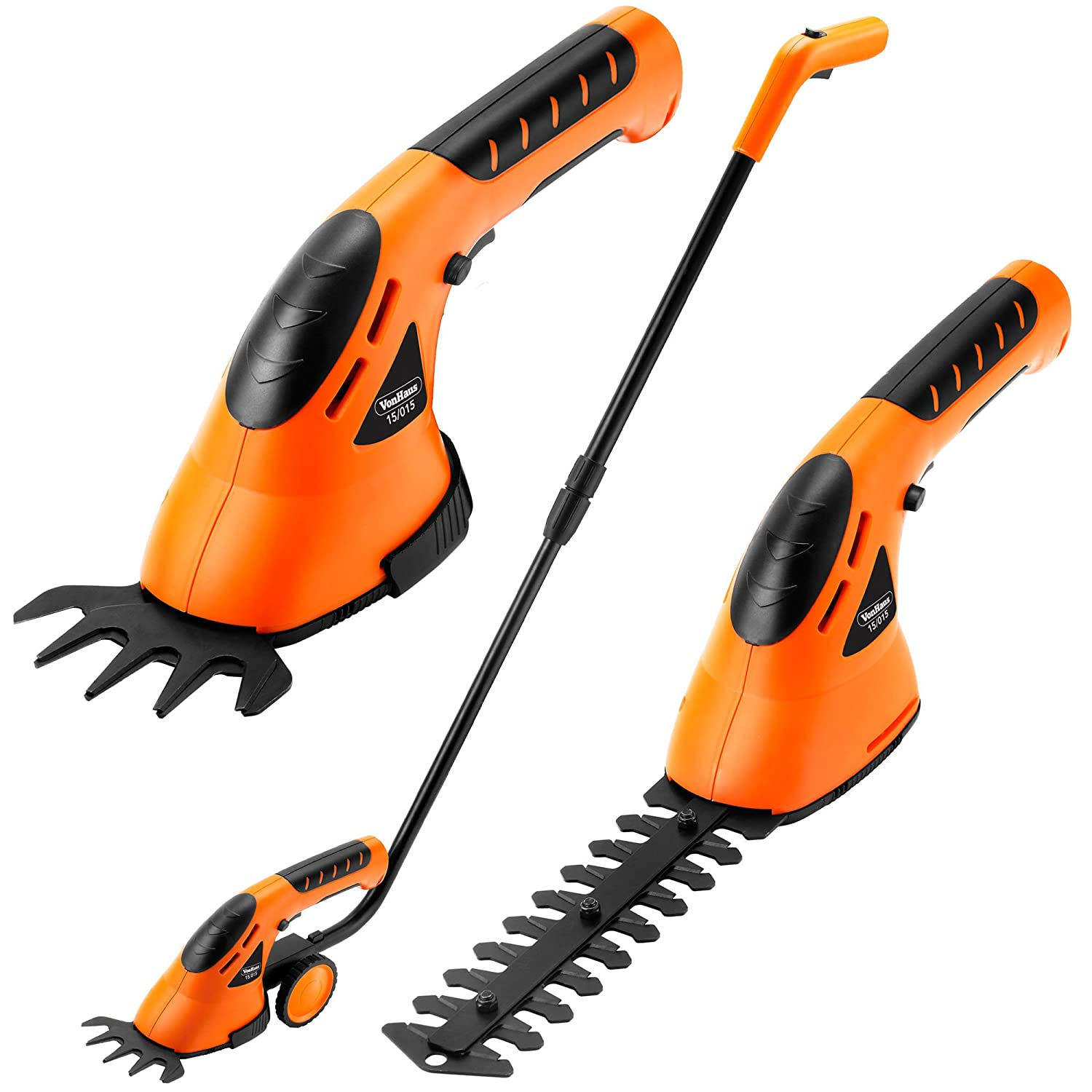 Hedge trimmers cordless battery petrol trimmers autos post for Hand held garden clippers