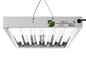 MILLIARD 2-FT/6-Bulb T5 Grow Light System