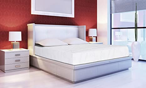 Sleeplace 10 In Omega Hybrid Cool I Gel Innerspring Mattress Full
