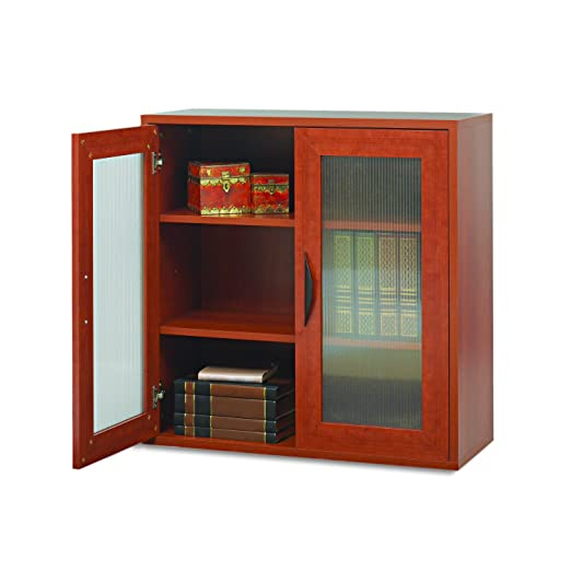 Safco Products 9442CY Apres Modular Storage Cabinet, 2 Door, Cherry