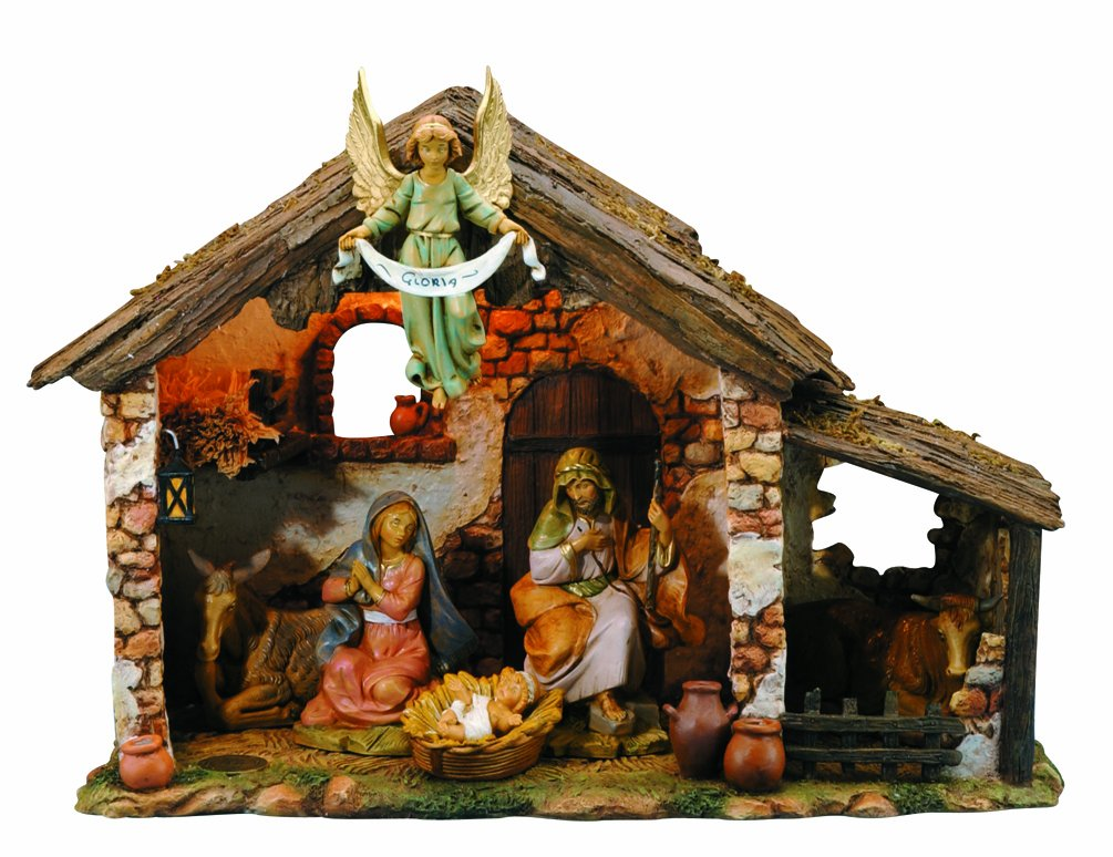 Amazon.com - Fontanini by Roman Figure Centennial Nativity Set ...