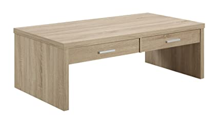 Convenience Concepts Key West Coffee Table, Weathered White Finish