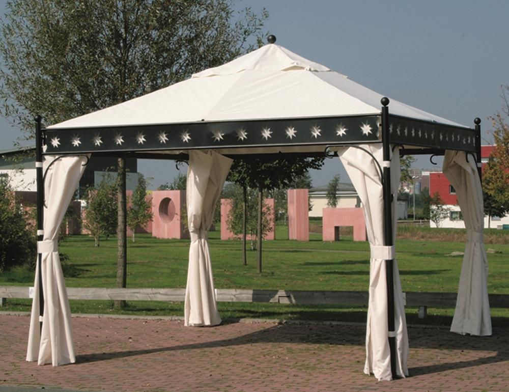 Siena Garden 661513 Seitenteile-Set zu Pavillon Korfu, 3,5×3,5m Polyester 160g/m² natur günstig bestellen