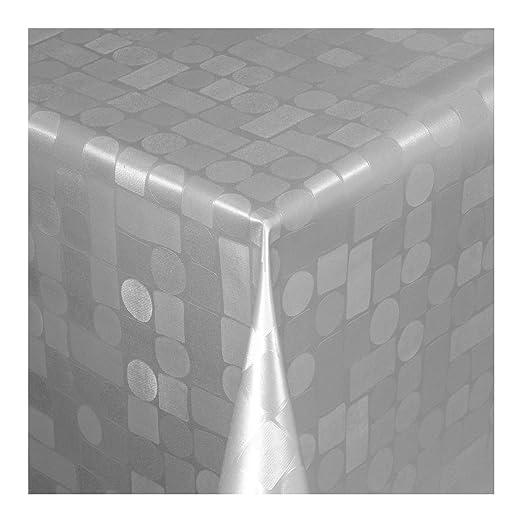 Wachstuch Tischdecke Robuste Leinen PRO Anthrazit Grau Größe wählbar abwaschbar