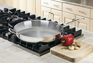 Cuisinart 722-36H Chef's Classic Stainless 14-Inch Open Skillet Via Amazon