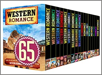 WESTERN: 65 BOOK MEGA BUNDLE - The Best Amazing 65 Books In 1 WESTERNS, BILLIONAIRES, MENAGES STORIES (western, romance, 65 books)
