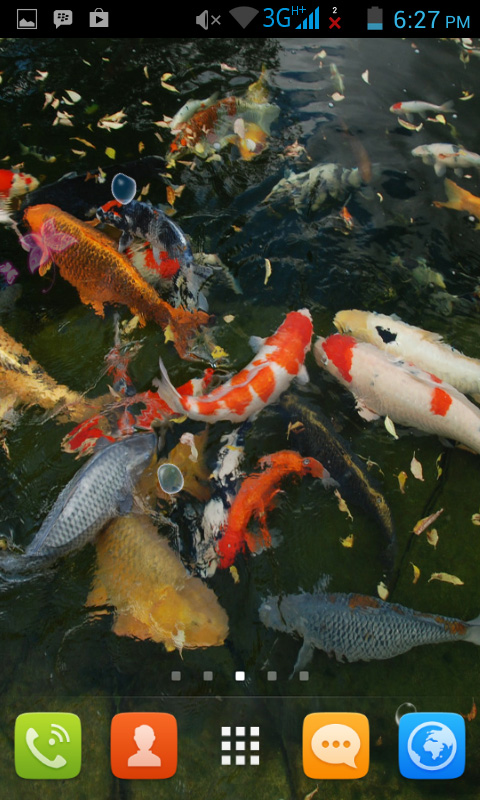 Koi pond live wallpaper free appstore for android for Amazon fish ponds