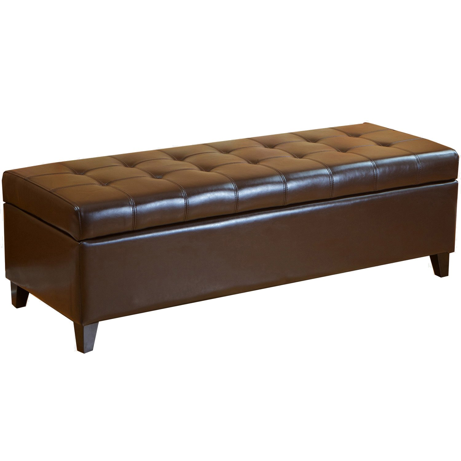 End of bed storage benches ottomans and chests olivia 39 s place Bed benches