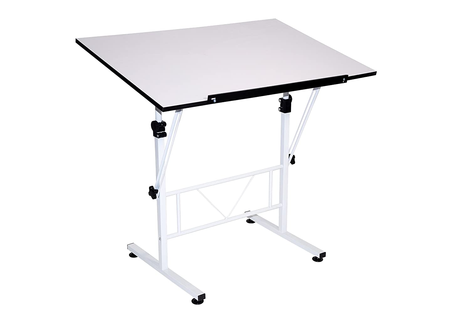 Art Drafting Table Adjustable Desk White Drawing Architect